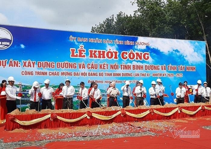 Xây cầu đường trăm tỷ vượt sông Sài Gòn nối Bình Dương và Tây Ninh