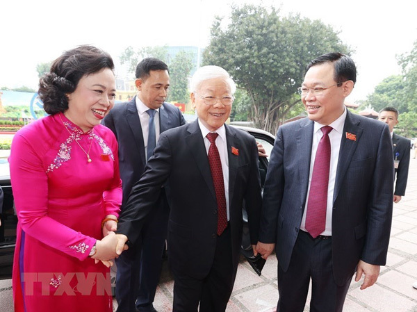 Party General Secretary attends Hanoi Party Congress
