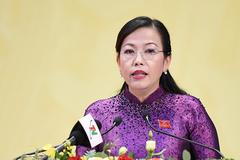 Bà Nguyễn Thanh Hải tái cử Bí thư Tỉnh ủy Thái Nguyên