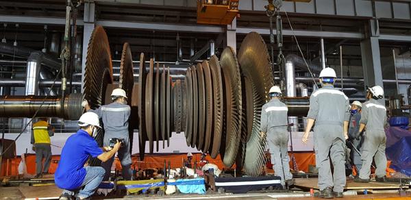 Nhiệt điện Quảng Ninh hoàn thành công tác đại tu tổ máy số 3