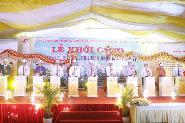 T&T Group khởi công dự án gần 4.500 tỷ ở Quảng Trị