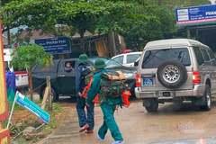 Phó Tư lệnh Quân khu 4 gặp nạn khi đi cứu hộ vụ sạt lở thủy điện Rào Trăng 3