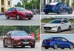 Top 5 sedan bán chạy nhất tháng 9