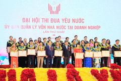 TKV nhận Cờ thi đua đơn vị xuất sắc năm 2019
