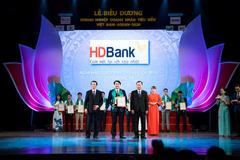 HDBank nhận giải Doanh nghiệp tiêu biểu Việt Nam - ASEAN 2020
