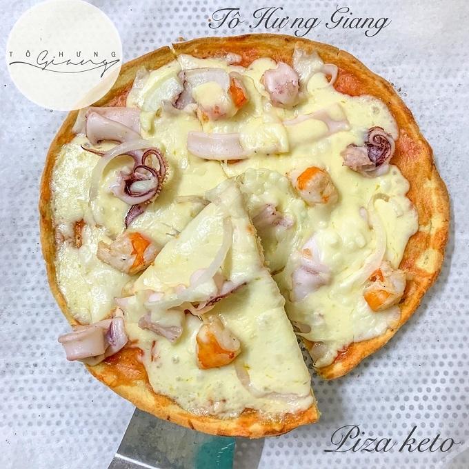 Cách làm bánh pizza keto thơm ngon, dậy mùi