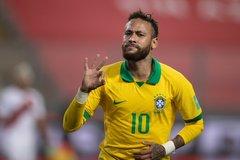 Neymar đi vào lịch sử, Brazil dẫn đầu vòng loại World Cup