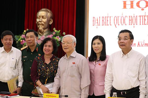 Tổng Bí thư, Chủ tịch nước: Lãnh đạo Hà Nội phải có bản lĩnh, trí tuệ và đoàn kết
