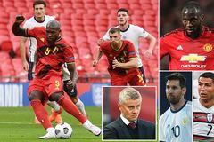 MU và Solskjaer tiếc không, Lukaku siêu hơn Ronaldo với Messi