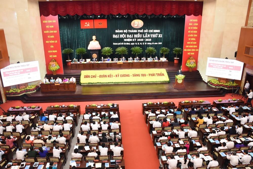 Ông Nguyễn Văn Nên là khách mời đặc biệt của Đại hội Đảng bộ TP.HCM