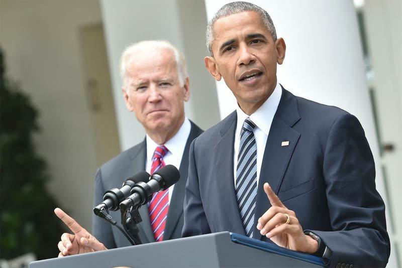 Obama thân chinh tới bang chiến địa vận độngcho 'cựu phó tướng' Biden