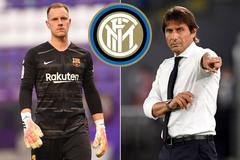 """Conte ra tay, Inter nổ """"bom tấn"""" Ter Stegen"""