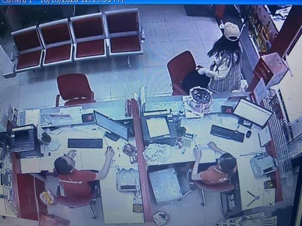 Khai báo bất ngờ vụ cô gái cướp 2,1 tỷ đồng tại ngân hàng Techcombank