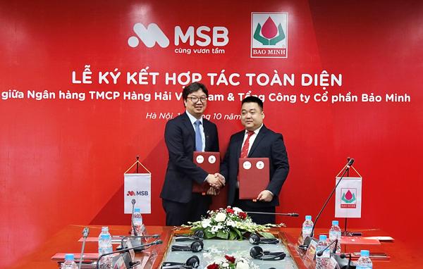 MSB và Bảo Minh 'bắt tay' hợp tác toàn diện