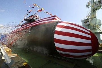 Nhật Bản ra mắt tàu ngầm tấn công mới
