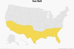 """Lý do những bang """"Vành đai Mặt trời"""" định đoạt kết quả bầu cử Mỹ 2020"""
