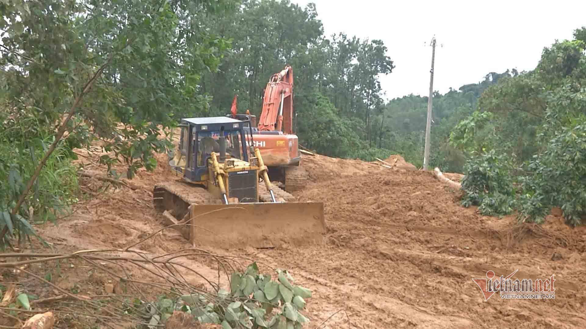 Thủy điện Rào Trăng 3,sạt lở đất