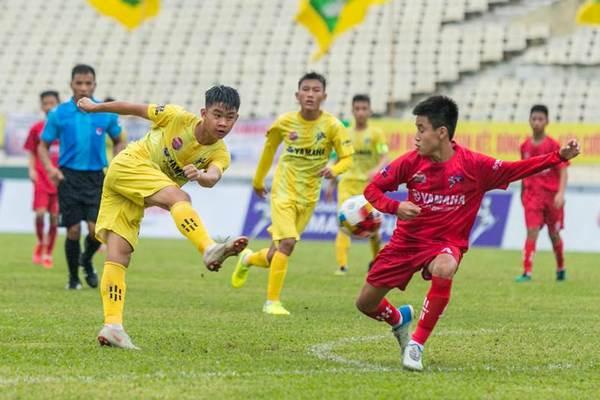 SLNA và Hải Dương tranh ngôi vô địch U13 quốc toàn