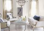 10 ý tưởng thiết kế phòng khách tông trắng đẹp mê hồn, không khác gì một 'thiên đường' thu nhỏ