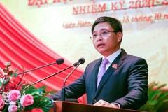 Ông Nguyễn Văn Thắng giữ chức vụ Bí thư Tỉnh ủy Điện Biên