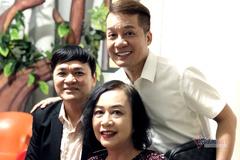 Nghệ sĩ Minh Phượng chống gậy đến ủng hộ Minh Nhí