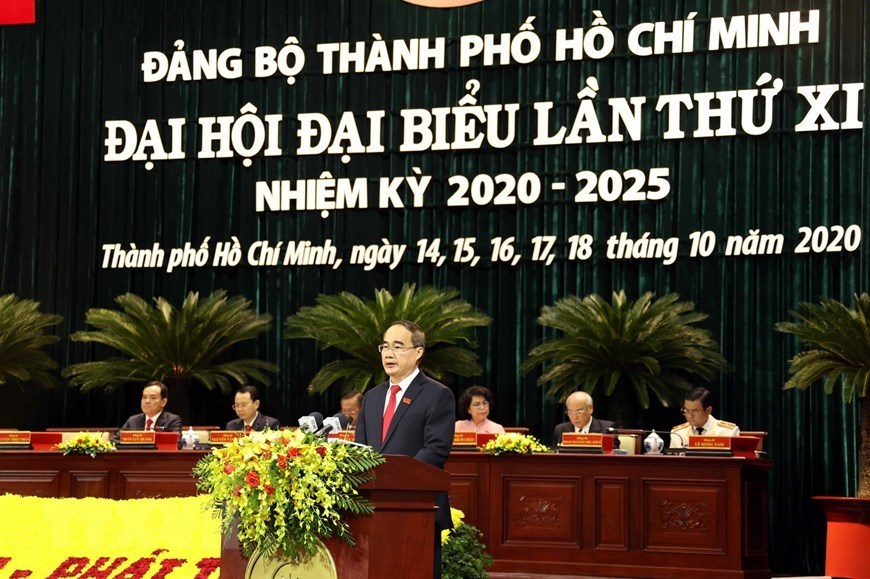 11th Congress of Ho Chi Minh City Party Organisation opens