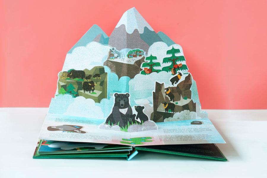 Khi sách trở thành một tác phẩm 3D nghệ thuật