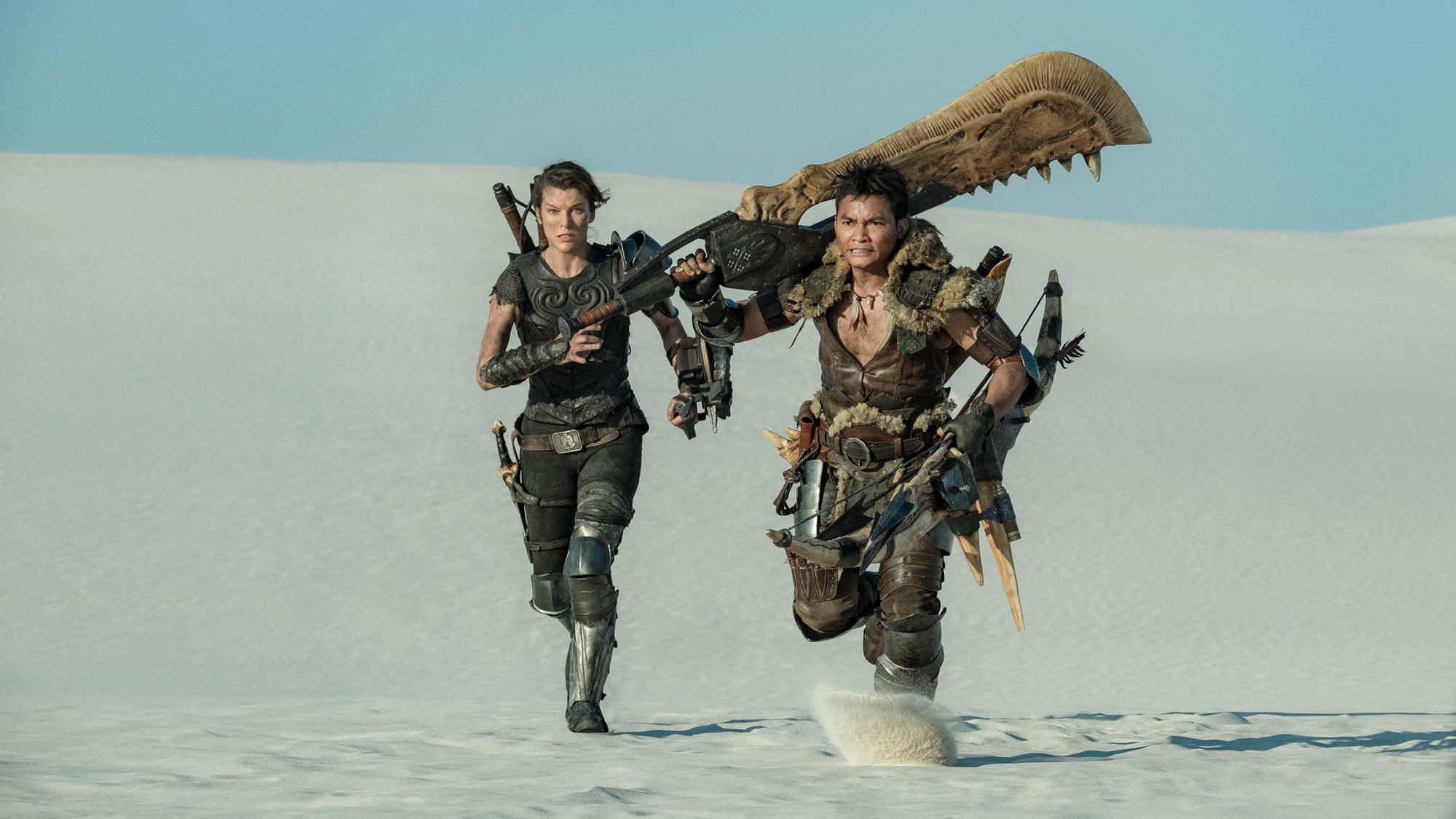 Milla Jovovich săn quái vật trong phim 60 triệu USD do chồng đạo diễn