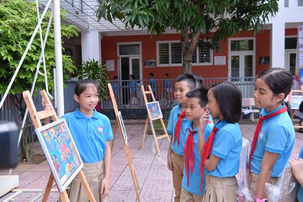 Trẻ thoả sức sáng tạo với cuộc thi vẽ tranh 'Chiếc ô tô mơ ước'