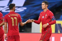 Ronaldo sẽ chiếm đá phạt đền ở MU của Bruno Fernandes