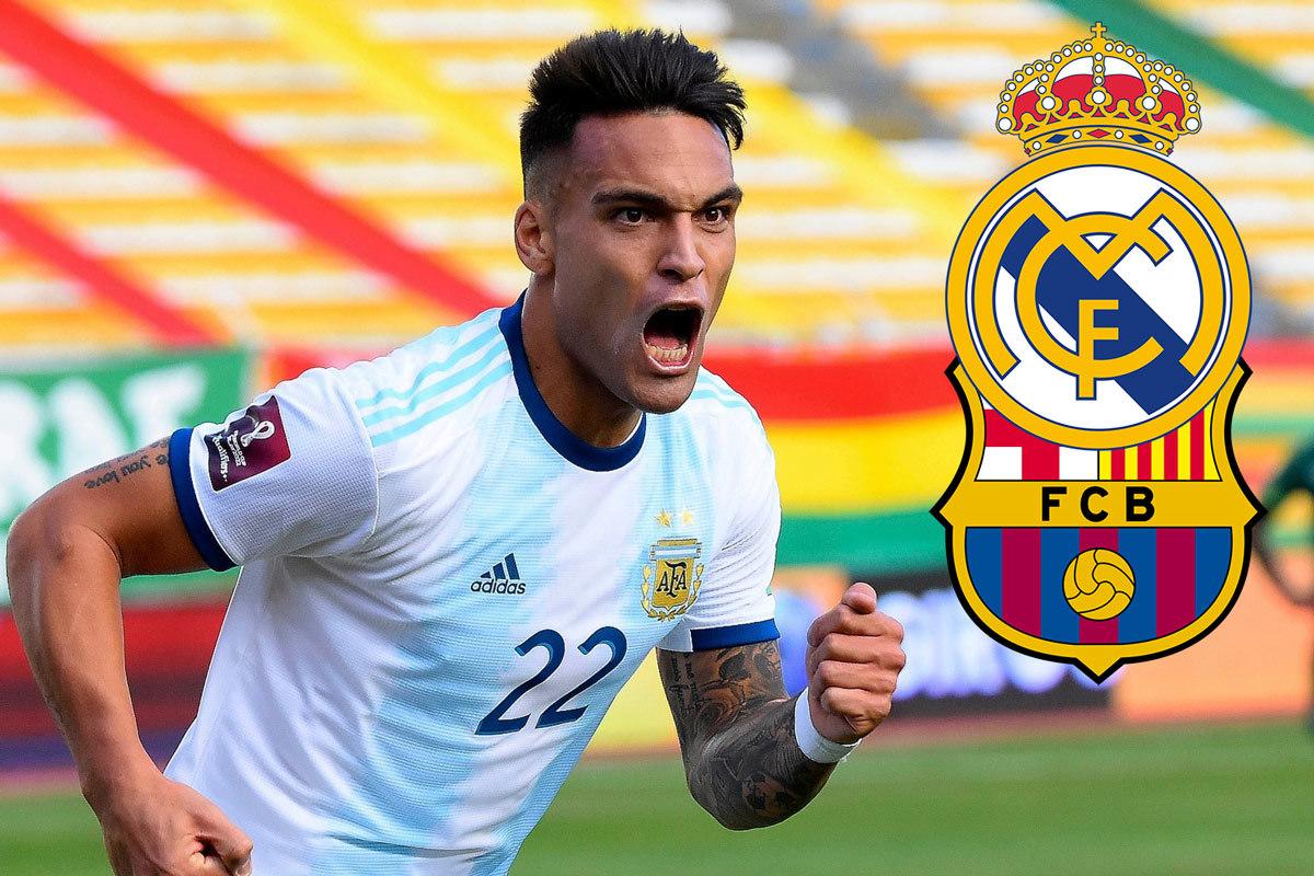 Real Madrid và Barca quyết đấu vì Lautaro Martinez