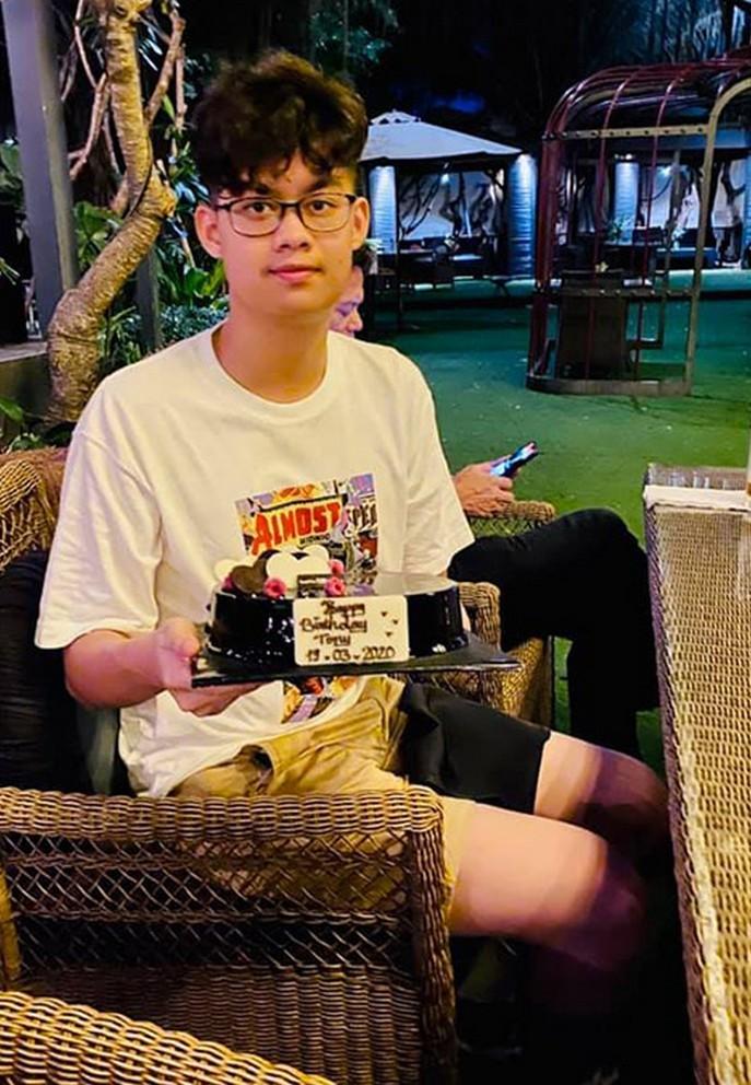 Con trai 16 tuổi học giỏi, cao 1m80 của diễn viên Hiền Mai