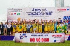 SLNA lần thứ 8 vô địch giải U13 toàn quốc