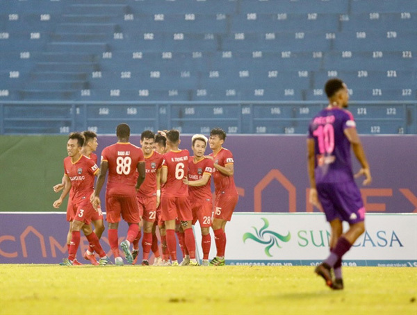 Sai Gon FC boss confident team can still win V.League 1 despite defeat