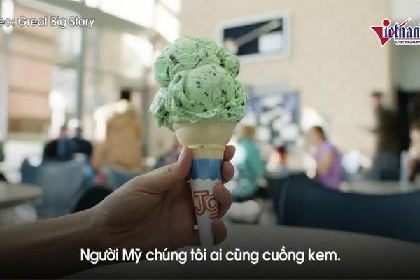 Ngành học được ăn kem thoải mái trên giảng đường