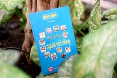 Nhà báo Song Minh ra mắt sách 'Thời đi học của người nổi tiếng'