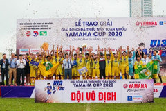 Football: Song Lam Nghe An crowned national U-13 champions