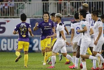 Hanoi FC grind out HAGL to put pressure on leaders Viettel