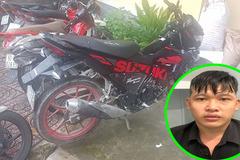 Xe máy vừa được cấp biển, chạy cướp giật trên đường Sài Gòn