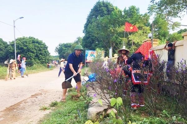 Huyện Hải Hà nỗ lực hoàn thiện các tiêu chí xây dựng nông thôn mới