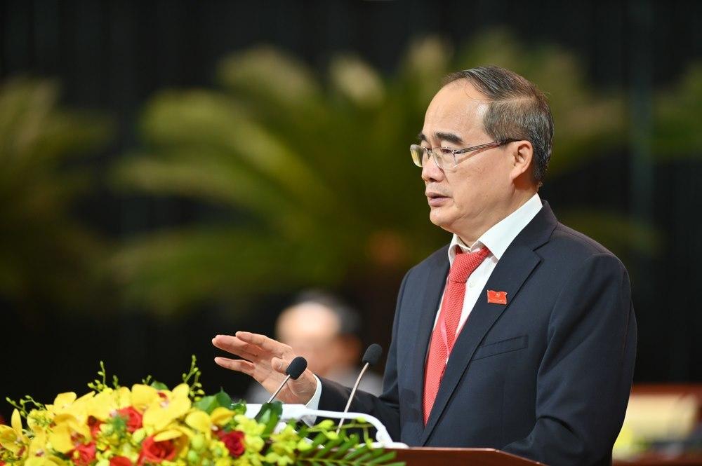 Lời phát biểu chia tay của nguyên Bí thư TP.HCM Nguyễn Thiện Nhân