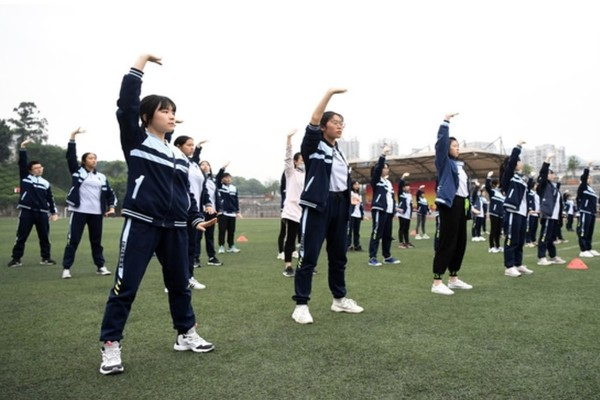 Trung Quốc định đưa môn Giáo dục thể chất vào kỳ thi tuyển sinh đại học
