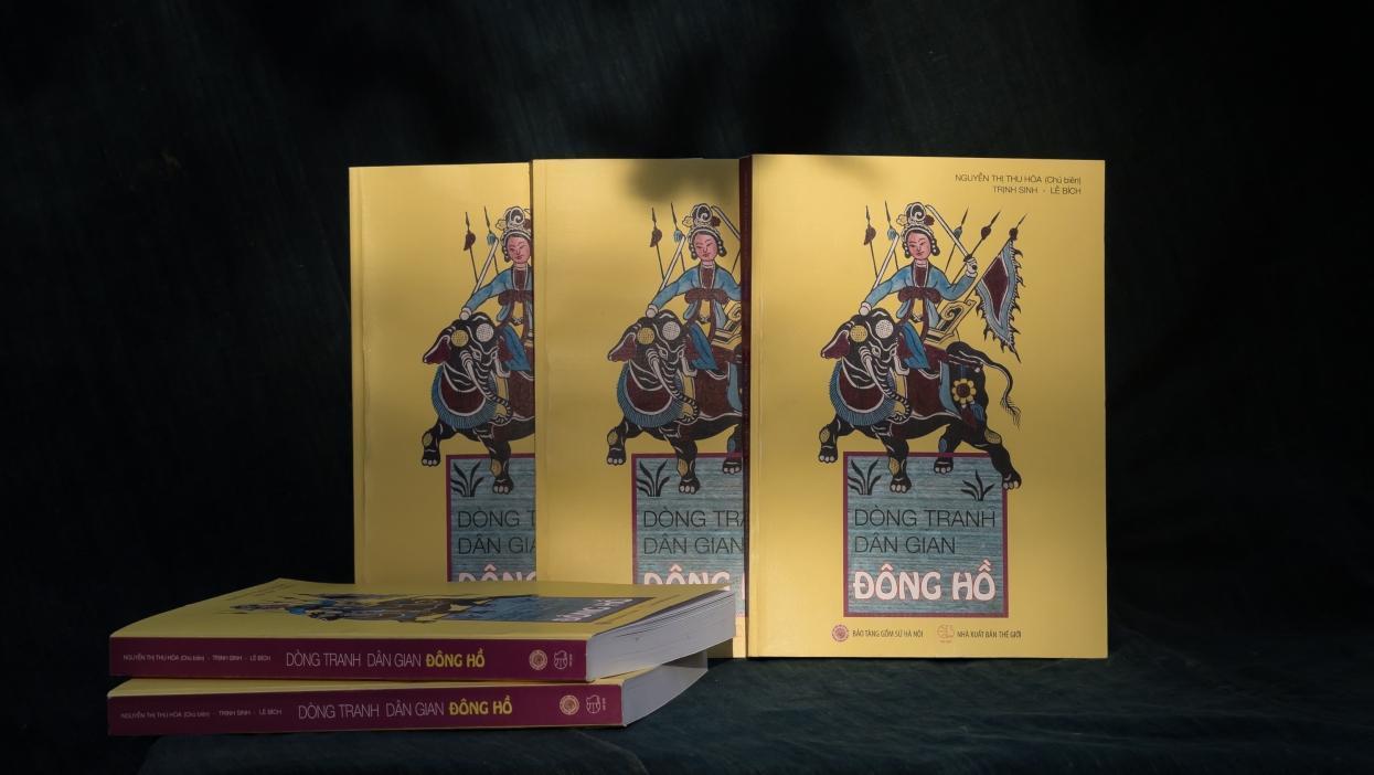 Giải B sách Quốc gia: Người lưu giữ hồn dân tộc qua sách tranh dân gian
