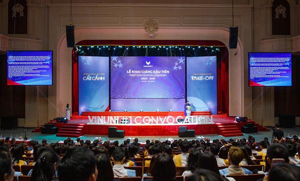 Đại học VinUni khai giảng năm học đầu tiên