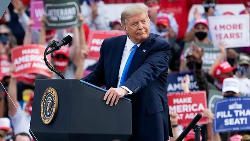 Ông Trump nói có thể phải rời Mỹ nếu thua đối thủ Biden