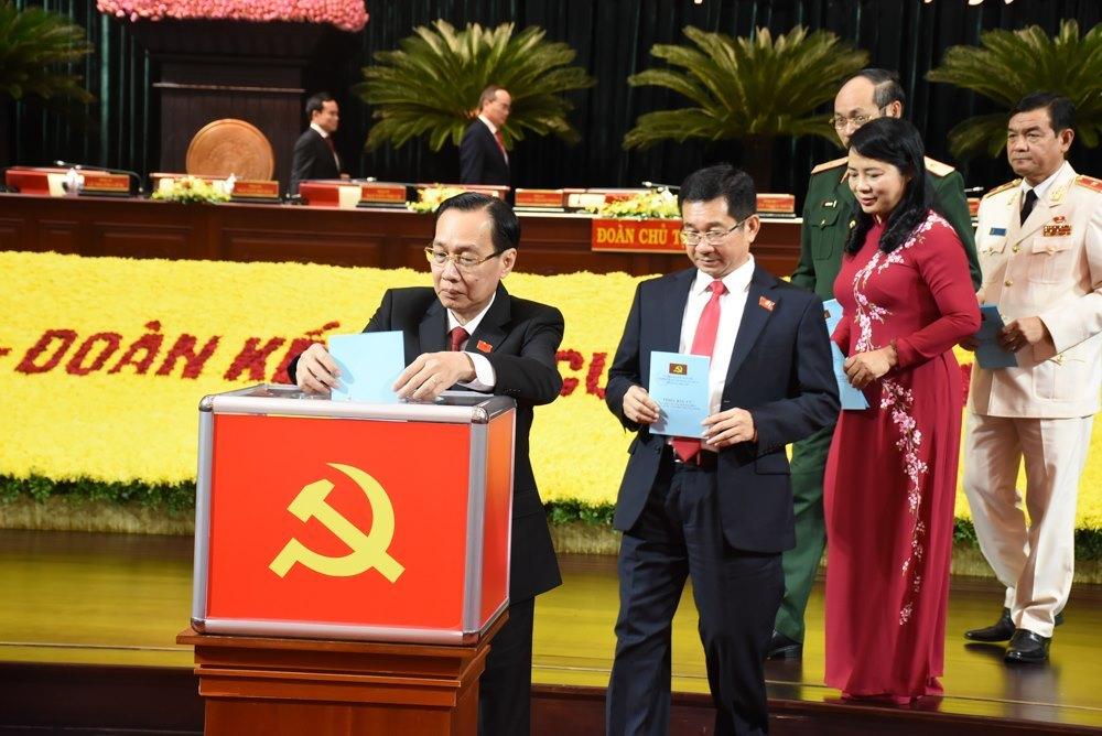 Đại hội Đảng bộ TP.HCM bầu Ban chấp hành khóa mới