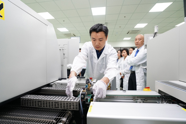 Operating high-tech electronics assembly factory in the Central region