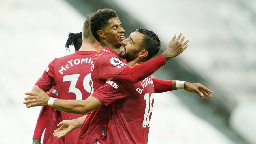 Xem video bàn thắng Newcastle 1-4 MU