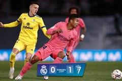 Real Madrid thua sốc đội tân binh ngay trên sân nhà