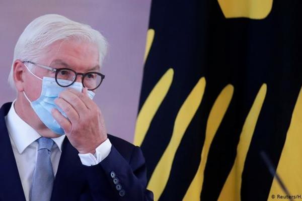 Vệ sĩ mắc Covid-19, Tổng thống Đức tự cách ly